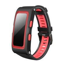 Фитнес-трекер Smart Band 2 сердечного ритма Смарт браслеты с независимыми GPS траектории Температура высота SmartBand