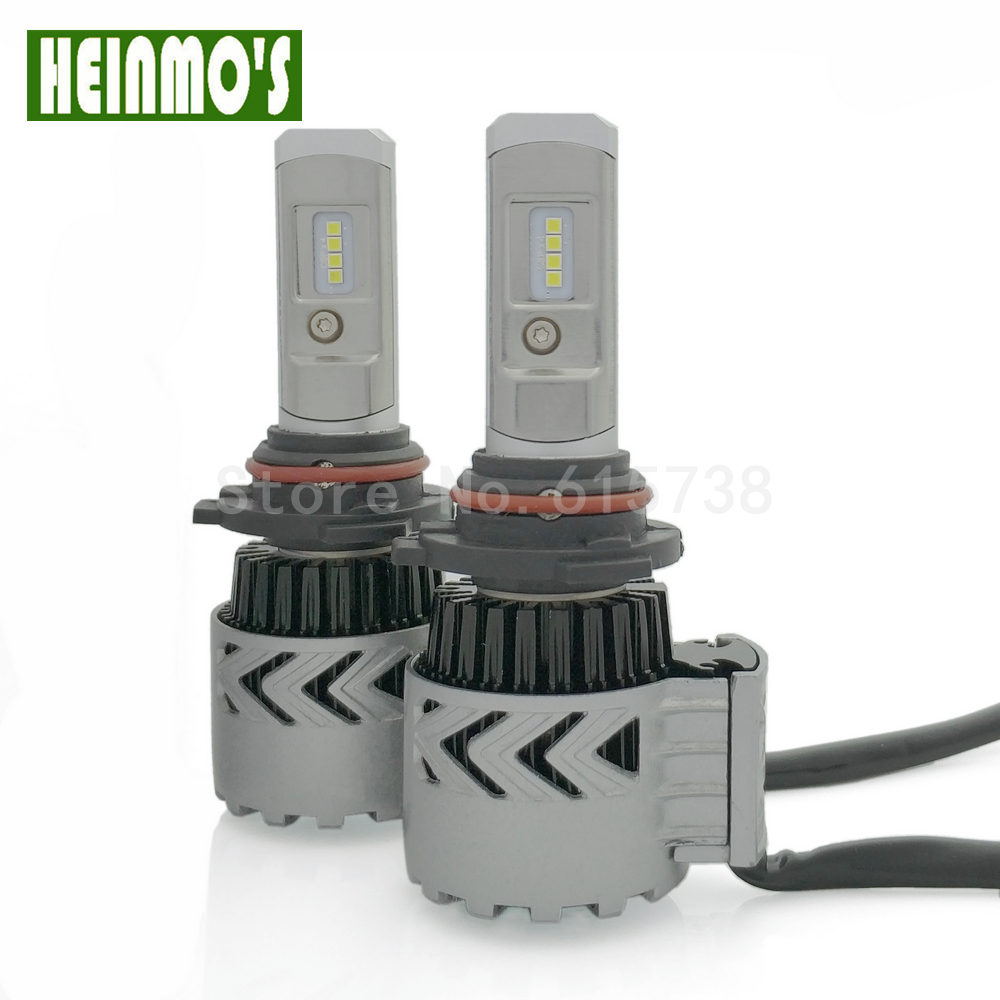 Car Headlight HB3/9005 Auto CSP Chip Bulb Headlamp H7 H4 LED Lamp H8/H11 HB4/9006 H1 60W 6000lm 6000K White Bulb Light  geetans 60w 9600lm h4 h7 led h8 h11 hb3 9005 hb4 9006 h1 h3 car headlight auto bulb automobiles headlamp car fog light lamp h