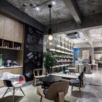 อเมริกันวิลเลจโปร่งใสง่ายจี้ VINTAGE Creative Cafe Restaurant ลูกบอลแก้วจี้ไฟ
