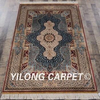 alfombras azules de la sala Alfombras De Estilo Persa Para Sala De Estar Alfombras De Dormitorio De Lujo Y Alfombras De Estudio