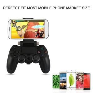 Image 2 - משחק בקר חכם טלפון קליפ מהדק הר מתכוונן סוגר מכשיר לסמסונג iphone מחזיק PS4 משחק בקר