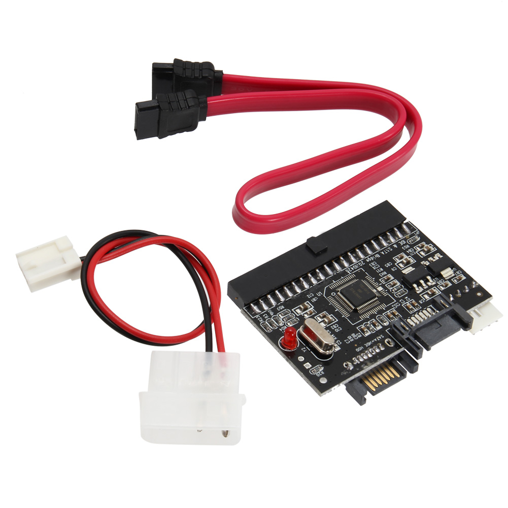 2 In 1 IDE to SATA/SATA to IDE Adapter Converter For Serial ATA XXM8 цена