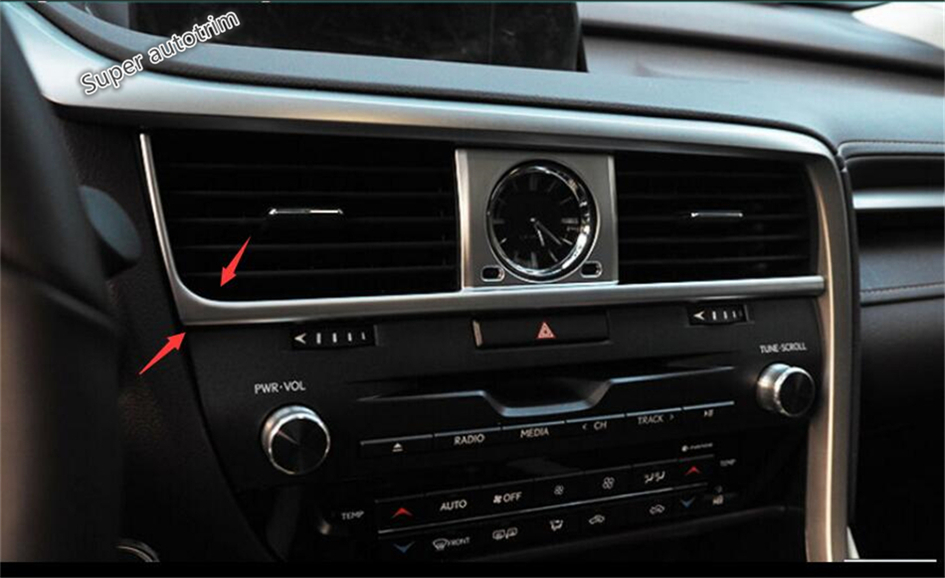 Lapetus Dashboard Acondicionador de aire AC Vent Outlet Cover Trim 7 - Accesorios de interior de coche - foto 4