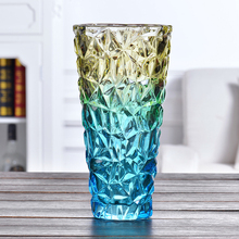 цена на Modern Thickening magic color Lead-free glass vase Hydroponics terrarium glass containers Tabletop vases  home decoration