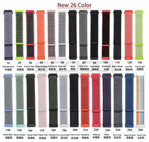Image 2 - Nylon Loop Woven Strap For Garmin vivoactive3 HR Smart Watch Wearable Wrist Bracelet For Garmin Forerunner 645 music Watchband