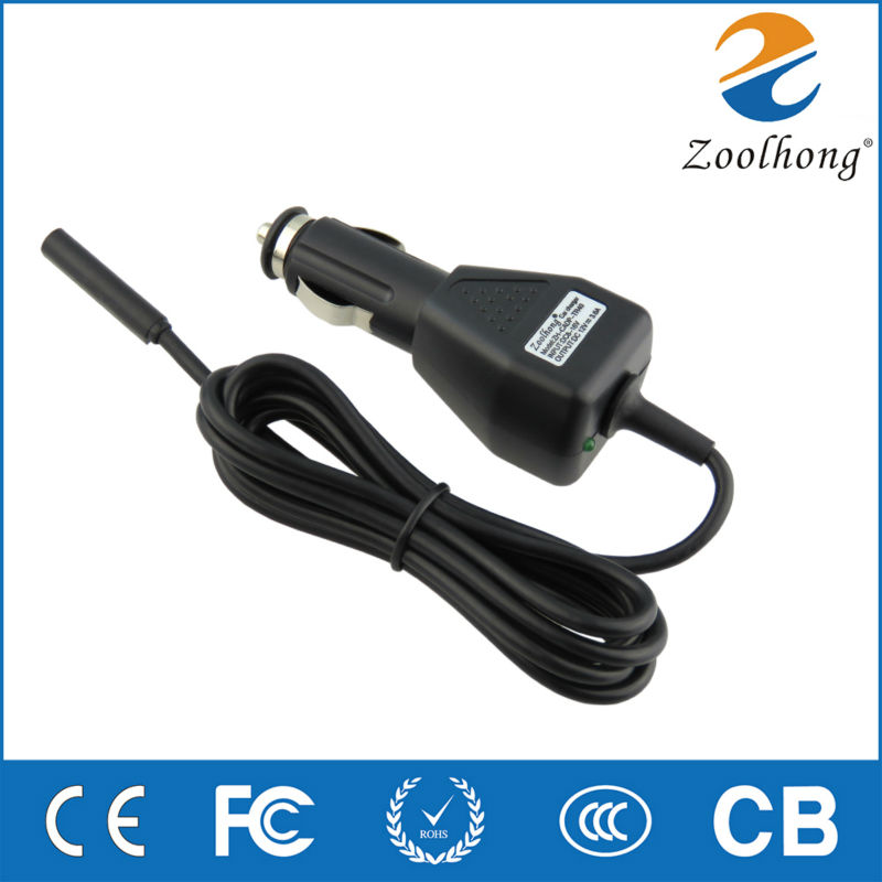 12V 3.6A 45W car power adapter charger for Microsoft surface2 surface RT Surface PRO Tablet Manufacturers selling high quality