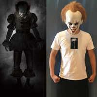 Stephen King's It Masque latex Costume masques Halloween film Cosplay Masque adultes accessoires de fête