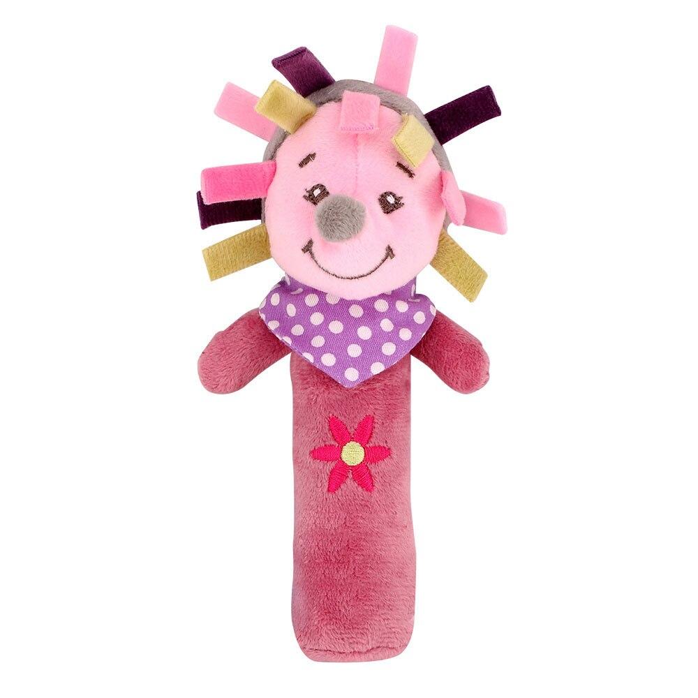 Детские погремушки Fulljion, развивающие игрушки для детей, Прорезыватель для зубов, Колокольчик для малышей, детская коляска, подвесные куклы - Цвет: bebe 2
