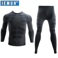 2017 Winter Spring Thermal Underwear Sets Men Brand Quick Dry Anti Microbial Stretch Men S Thermo