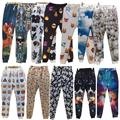 17 Styles 3D Emoji print pants funny cartoon sweatpants black & white thicken loose joggers harem trousers sportswear clothes
