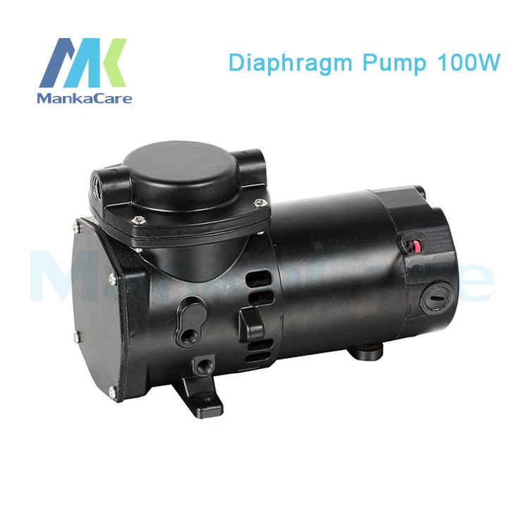 Manka Care - 24V (DC) 35L/MIN 100W Mini DiaphragmVacuum Pump /Silent Pumps/Oil Less/Oil Free/Compressing Pump manka care 110v 220v ac 50l min 165w small electric piston vacuum pump silent pumps oil less oil free compressing pump