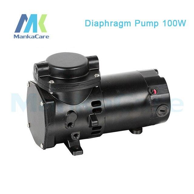 Manka Care - 24V (DC) 35L/MIN 100W Mini DiaphragmVacuum Pump /Silent Pumps/Oil Less/Oil Free/Compressing Pump