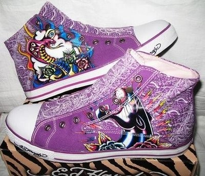 Ed hardy Men high-top shoes ed hardy male high-top shoes edhardy shoes