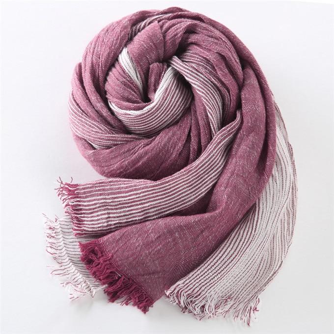 Новинка, брендовый зимний шарф для мужчин, теплый, мягкий, с кисточками, Bufandas Cachecol, серый, в клетку, тканый, мятой, хлопок, мужские шарфы - Цвет: wine