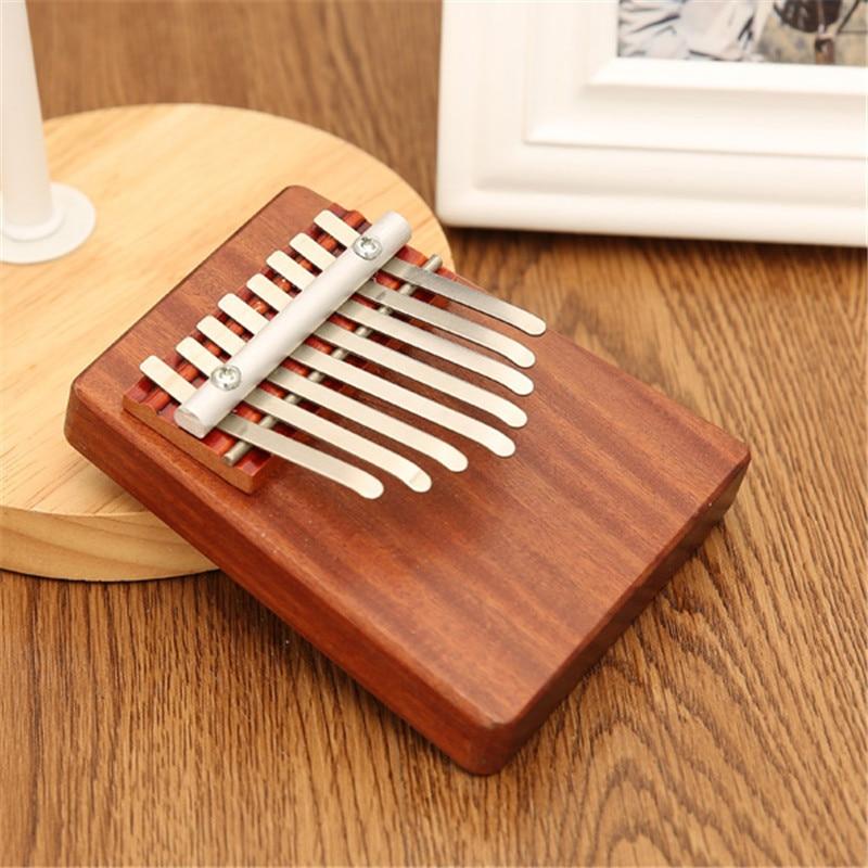 Unique 8 Key Finger Piano Mbira Kalimba Thumb Piano Rosewood Idea Fun Gift Traditional African Music