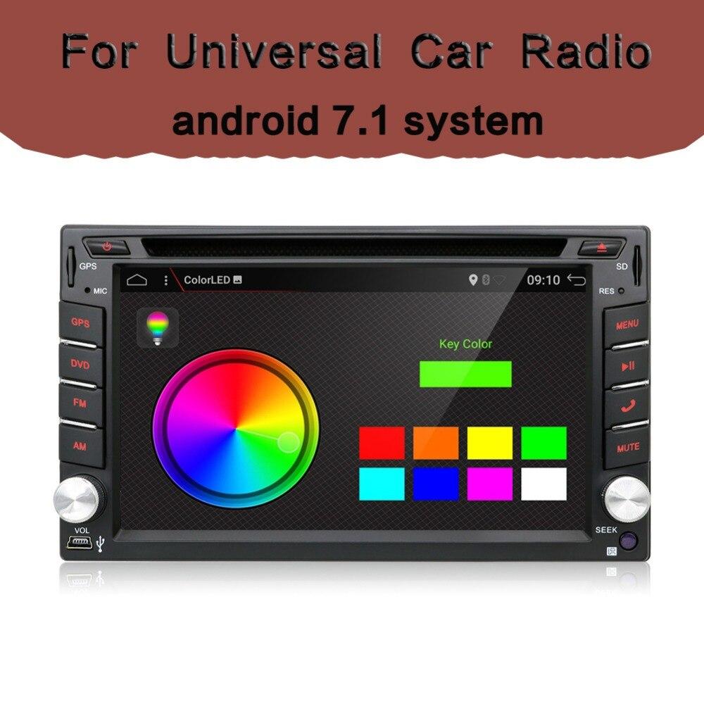 2 din Radio del coche Quad Core Autoradio Reproductor multimedia 2DIN - Electrónica del Automóvil
