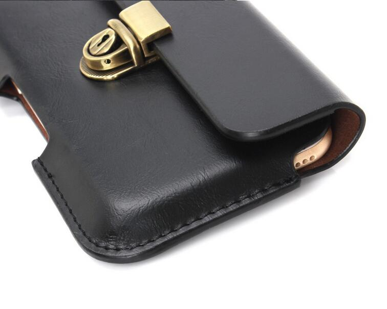 Business Belt Clip Holster Pouch Cover para Iphone 6s 6 7 Plus A3 A5 - Accesorios y repuestos para celulares - foto 5