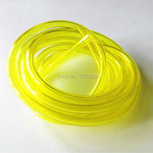 Brush cutter fuel tank spare parts yellow oil pipe inner dia 3.00mm  5 meters