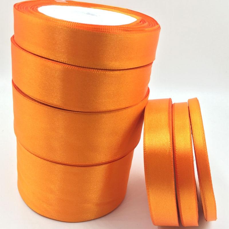 017, Бесплатная доставка Оптовая 25 ярдов шелковые, атласные ленты, свадебные декоративные ленты, подарочная упаковка, DIY материалы ручной работы