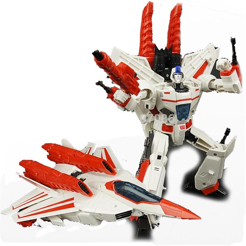G1 TKR Transformation Jetfire Skyfire IDW Classic LG07 reconnaissance aircraft Mode Leader KO Action Figure Robot