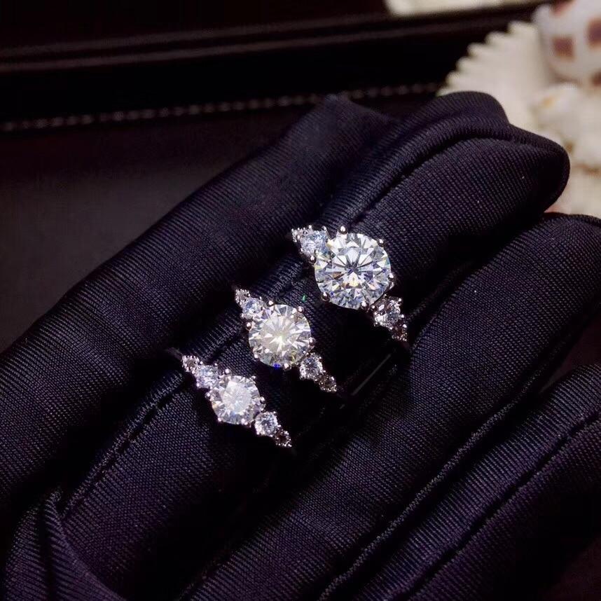 Moissanite, carats 슈퍼 핫 판매, 다이아몬드와 비교, 절묘한 장인 정신-에서반지부터 쥬얼리 및 액세서리 의  그룹 1