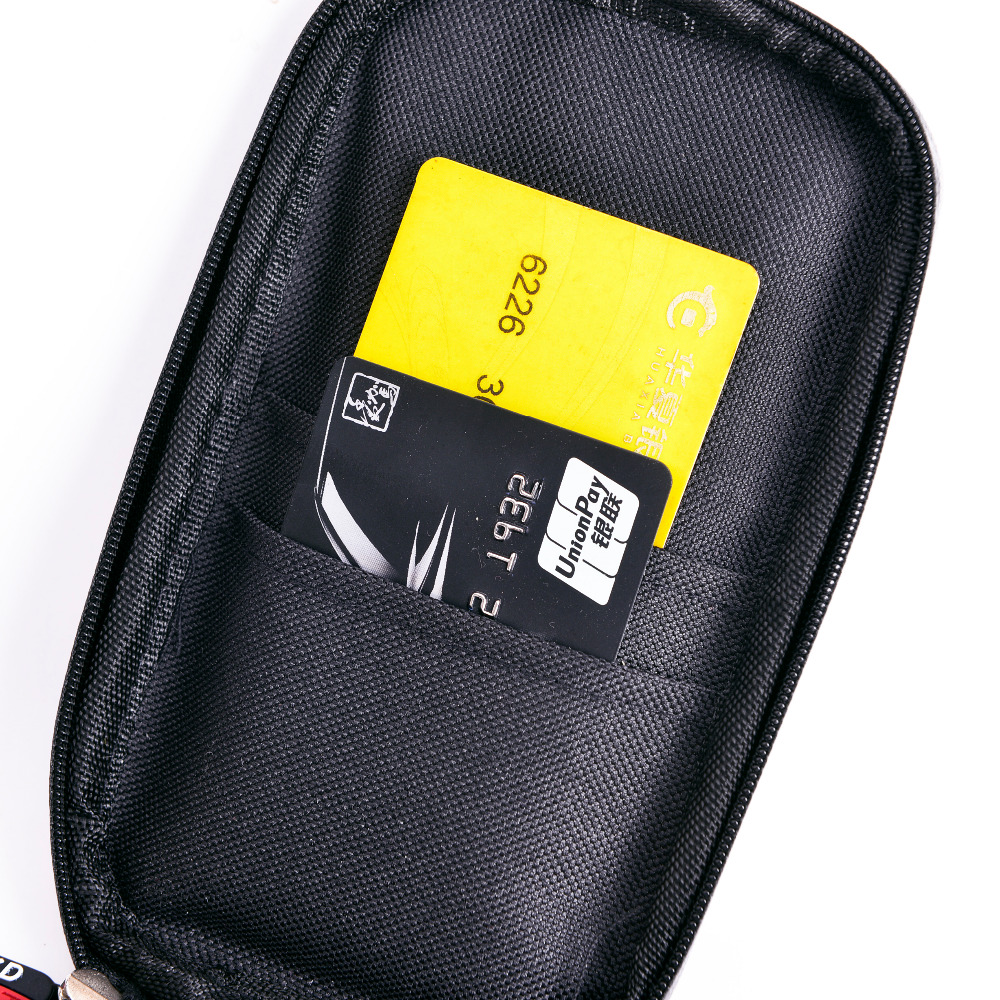 Image 5 - 2018 Upgrade 360 Degree GPS Motorcycle Waterproof Bag Bicycle Phone Holder Adjustable Handlebar Support Moto Mount Card slotsbicycle phone holdermoto mountphone holder -