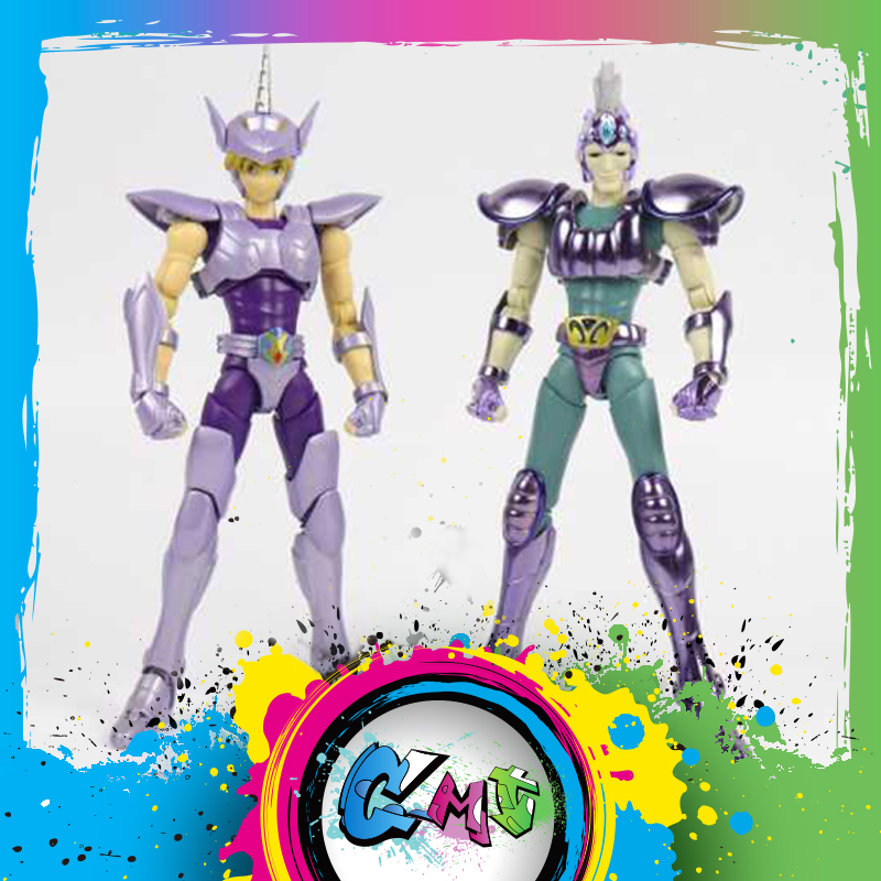 CMT Great Toys EX Saint Seiya Figure Bronze Unicorn Yokoshimabu And Hydrus Snake Ichi Metal Armor