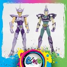 CMT צעצועים גדולים EX Saint Seiya איור ברונזה Unicorn Yokoshimabu ו Hydrus נחש Ichi מתכת שריון פעולה איור