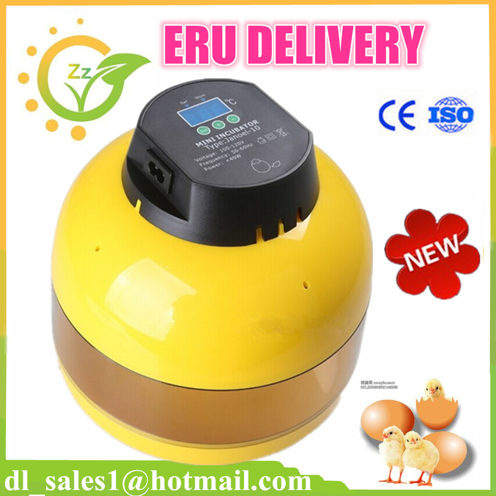 Automatic Digital 10 Eggs Incubator For Hatching Chicken Duck Poultry Hatcher digital automatic egg incubator poultry hatcher chicken duck 48 eggs