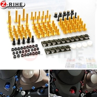 Motorcycle accessories Fairing Bolt Screw Fastener Fixation for yamaha triumph mt 07 mt09 harley 883 car covers pit bike gsxr tm