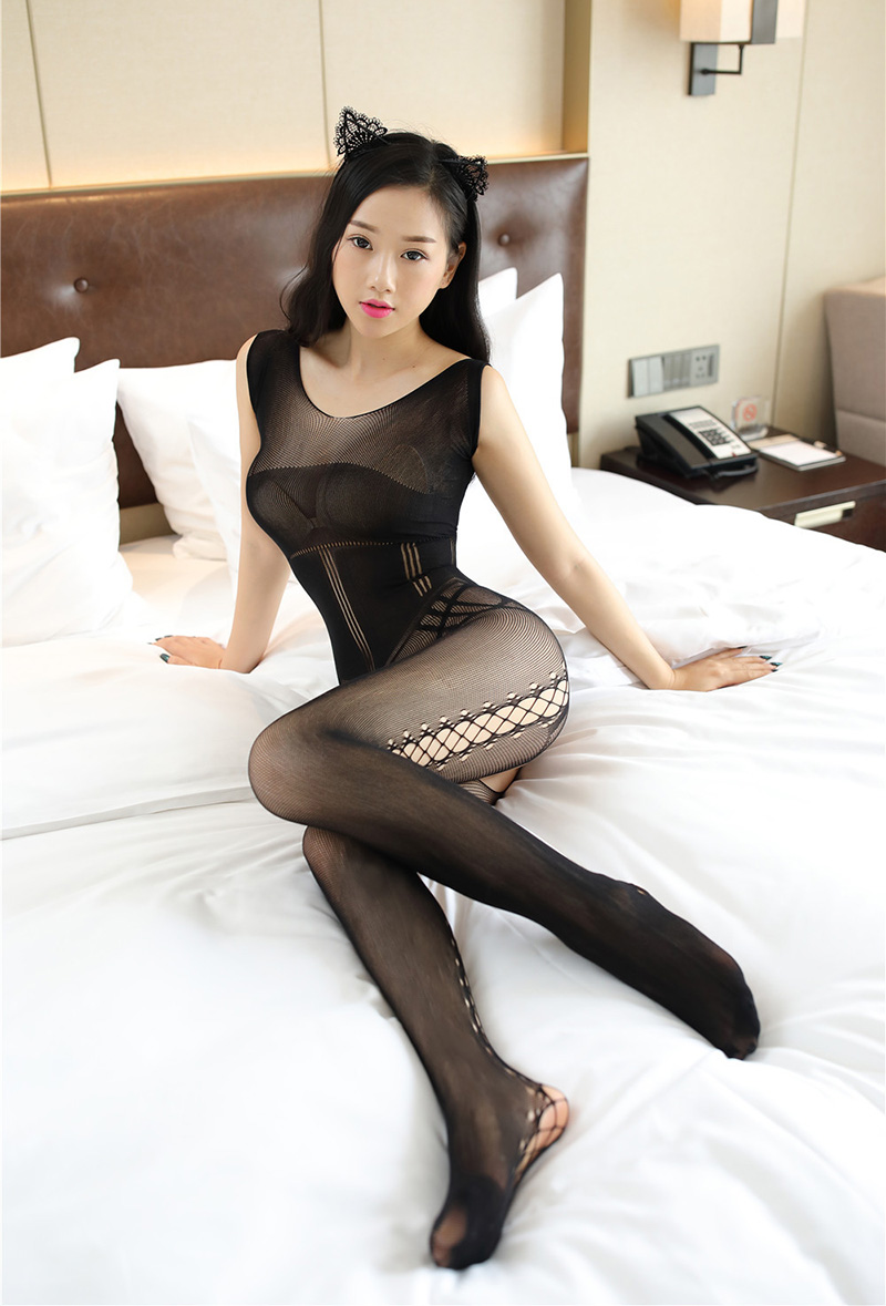 24ee0f07ed Detail Feedback Questions about 2018 New Sexy Womens Fishnet ...