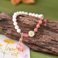 Pearl Bracelets Jewelery Gifts Beads Jewelry Women Chinese style Accessories Bracelets