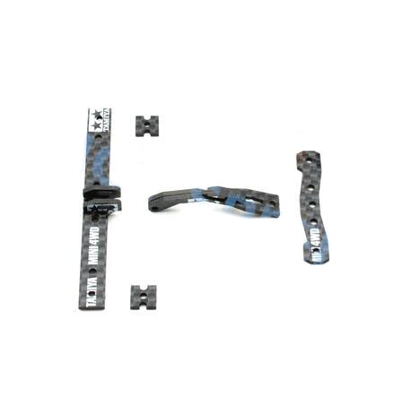 CNC Tamiya Rear Hanger Adjustable Lifting Bracket Plate 15495 Scorpion Tail Spare Part for MS/AR Chassis of Tamiya Mini 4WD Raci