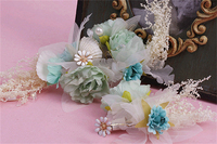 Set Of 2 Shell Flower Hair Clip Wedding Hair Accessories Pin Up Pearl Hair Jewelry Bride