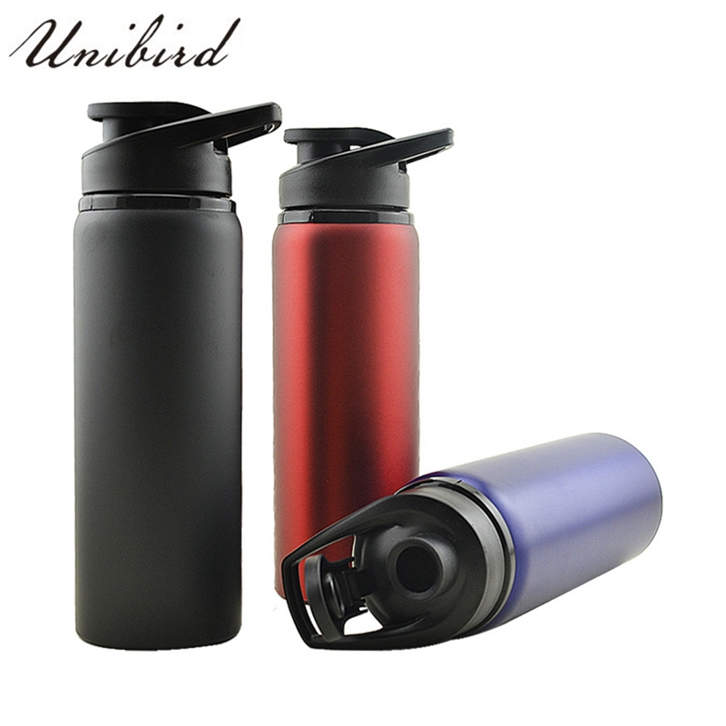 Unibird 0.7L Large Stainless Steel Water Bottle for Camping Self-Driving Bicycle My Outdoor Sports Water Kettle Drink Bottle