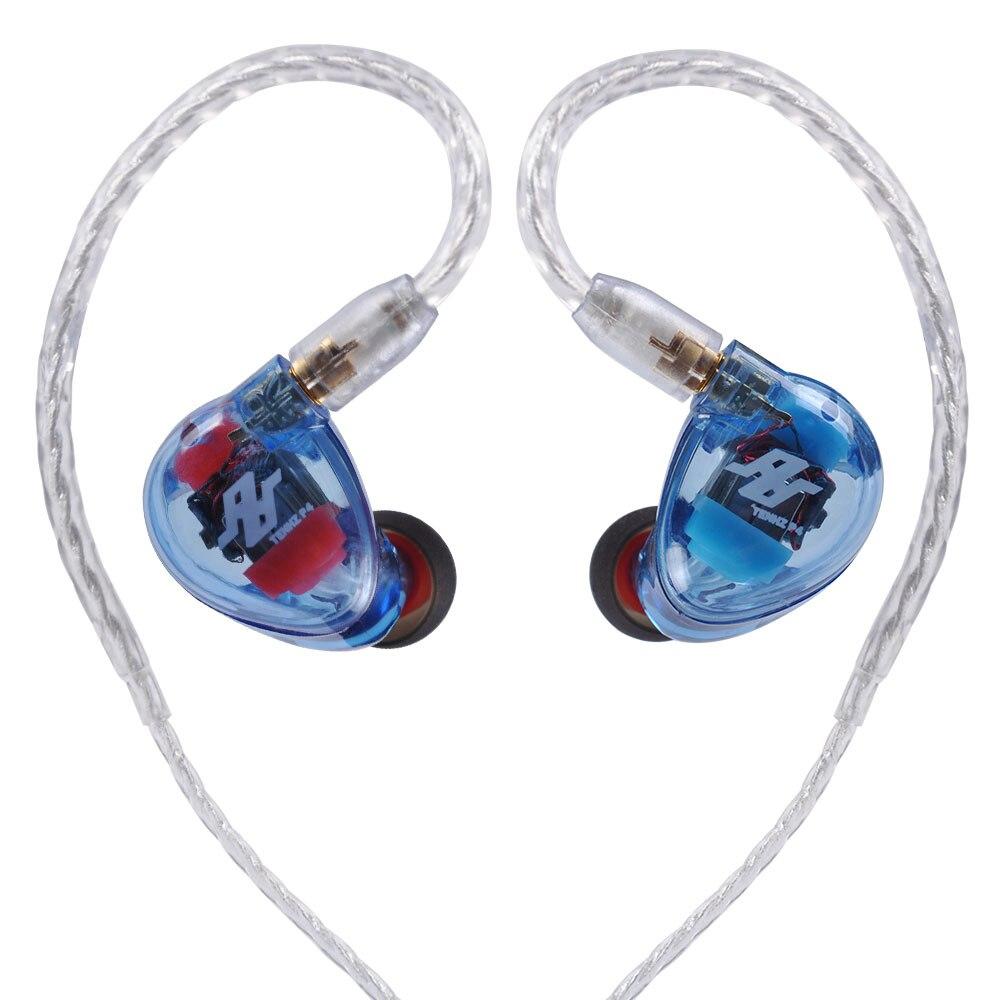 AK nouveau TENHZ & AUDBOS P4 4BA dans l'oreille écouteur 4 Armature équilibrée casque de moniteur HiFi avec câble MMCX K5 T5 Z1 P4 PRO