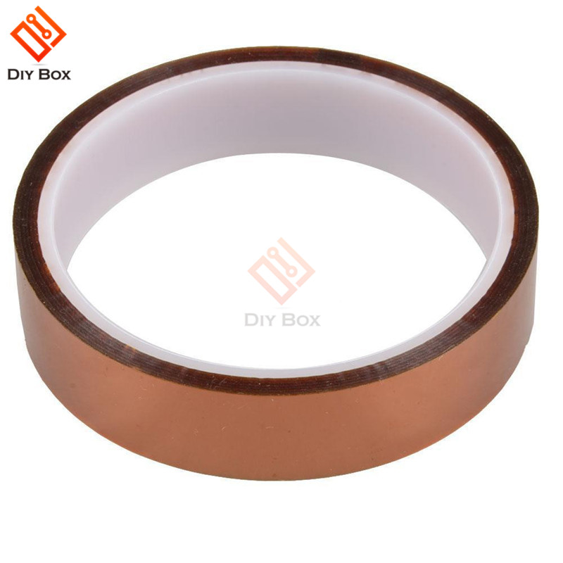 1 Roll Kapton tape High Temperature Resistant 3mm*100ft