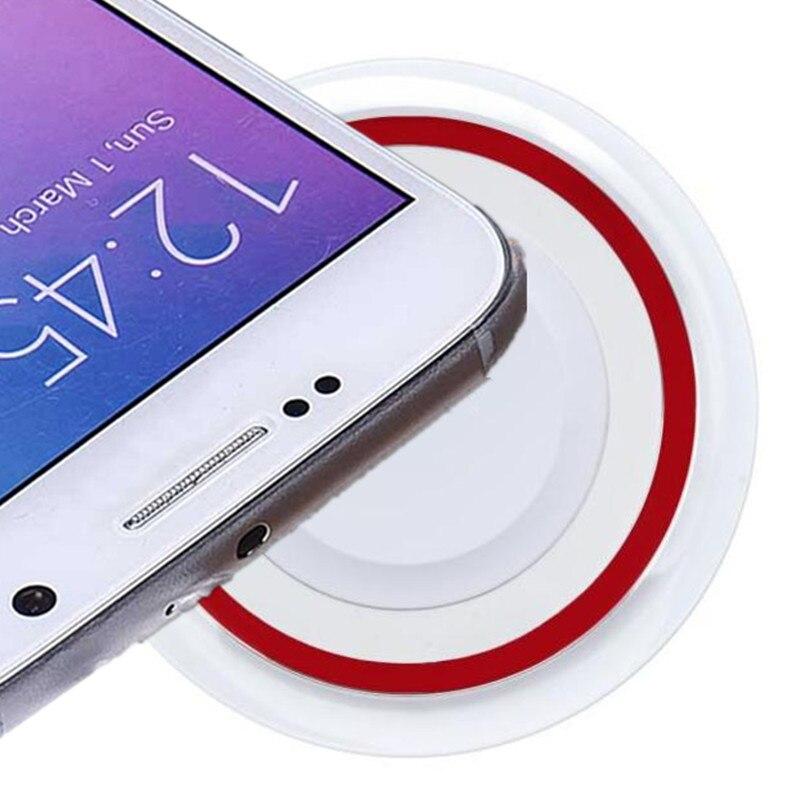 Стандарт Qi Беспроводная Подставка для зарядки устройств универсальный аккумулятор зарядное устройство коврик для мобильного разъем для зарядки телефона De Carro