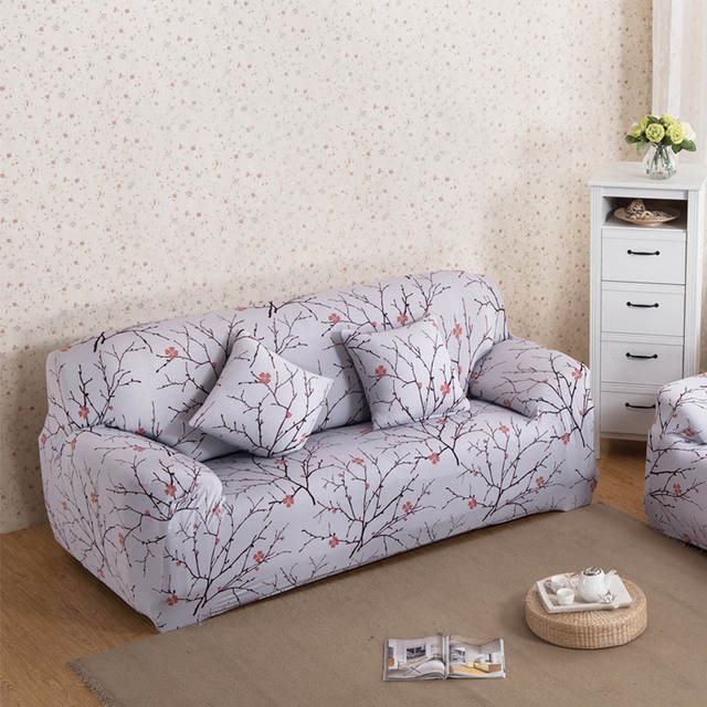 Fine Us 16 41 22 Off All Inclusive Sofa Cover Flower Slipcover Stretch Fabric Elastic Covers For A Sofa Loveseat Cover Single Two Three Four Seater In Andrewgaddart Wooden Chair Designs For Living Room Andrewgaddartcom