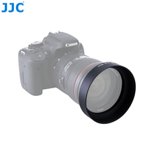 JJC אוניברסלי סטנדרטי עדשת הוד 49mm 52mm 55mm 58mm 62mm 67mm 77mm 82mm מתכת בורג מצלמה עדשת מגן