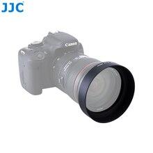 JJC Universal Padrão Lens Hood 49mm 52mm 55mm 58mm 62mm 67mm 77mm 82 dois milímetros de Metal Screw in Protetor Da Lente Da Câmera