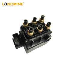 Free Shipping New Q7 VW Touareg Cayenne 955 Air Suspension Compressor Pump Supply Solenoid Valve Block