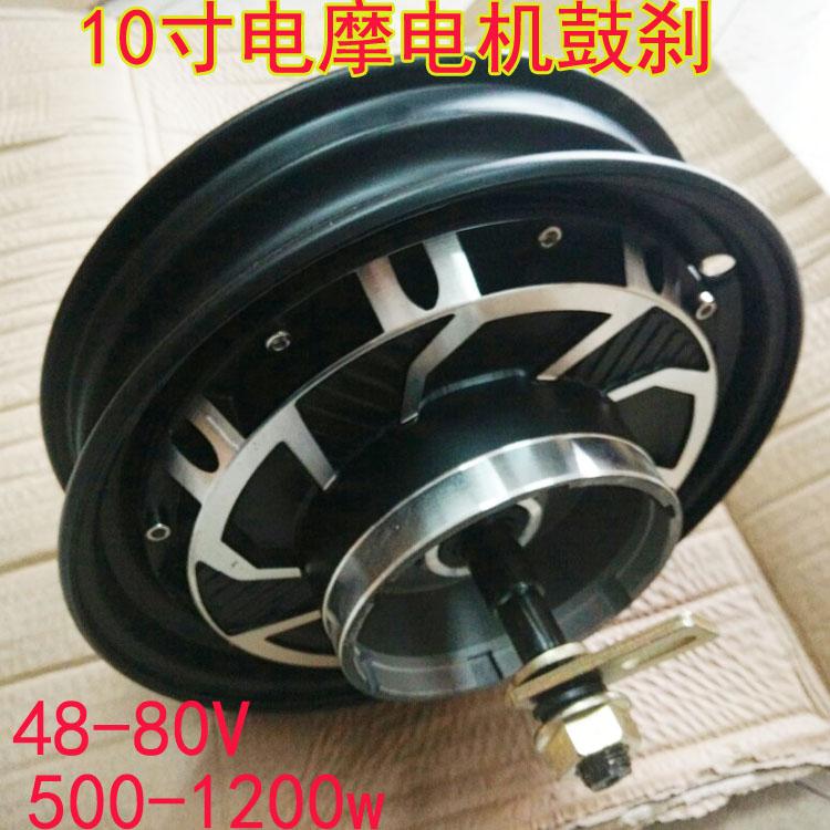 Electric motor electric motor 48V60V72V500W800W1000W brushless 120 degree high speed motor 30a esc welding plug brushless electric speed control 4v 16v voltage