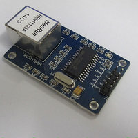 86026 FREE SHIPPING ENC28J60 Ethernet LAN / Network Module 51 AVR STM32 LPC learning tool Network Module