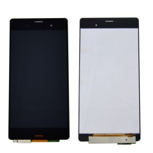 цены на For Sony Xperia Z3 D6603 D6653 L55t LCD Screen Display With Touch Screen Digitizer Assembly + Adhesive + Tools Free shipping  в интернет-магазинах
