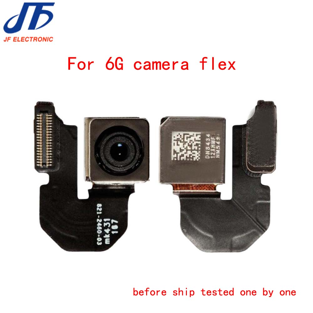 free shipping Replacement Rear Camera Flex Cable for iPhone 6 6G 4 7 Back Camera Module