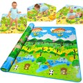 Baby Play Mat 2*1.8 Meter Fruit Play Game Mat Family Picnic Carpet Child Crawling Mat Tapete Para Babe Toys Tapete 29