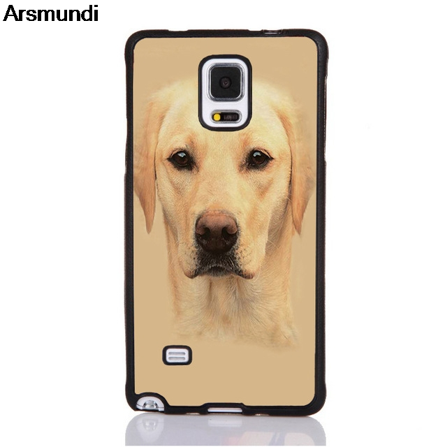 Arsmundi Cute Dog Stampato Animale Phone Cases for iPhone 4S 5C 5S 6S 7 8 Plus X for Samsung NOTE Case Soft TPU Rubber Silicone