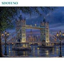 Набор для рисования по номерам «Лондонский мост» 40 х50 см