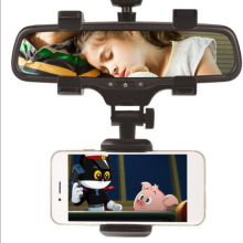 Car Rearview Mirror Mount Holder Stand Cradle For Cell Phone